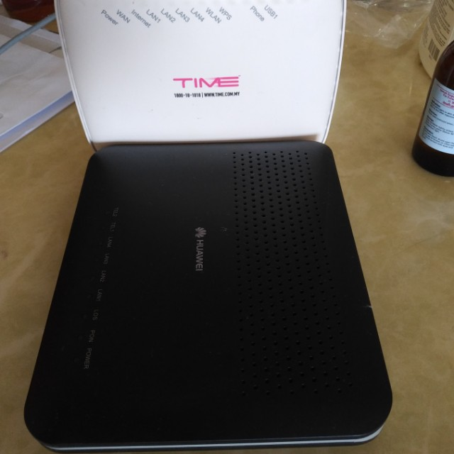 TIME Fiber Broadband Modem and Router