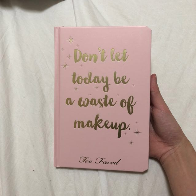 Too Faced Diary/Planner 2018