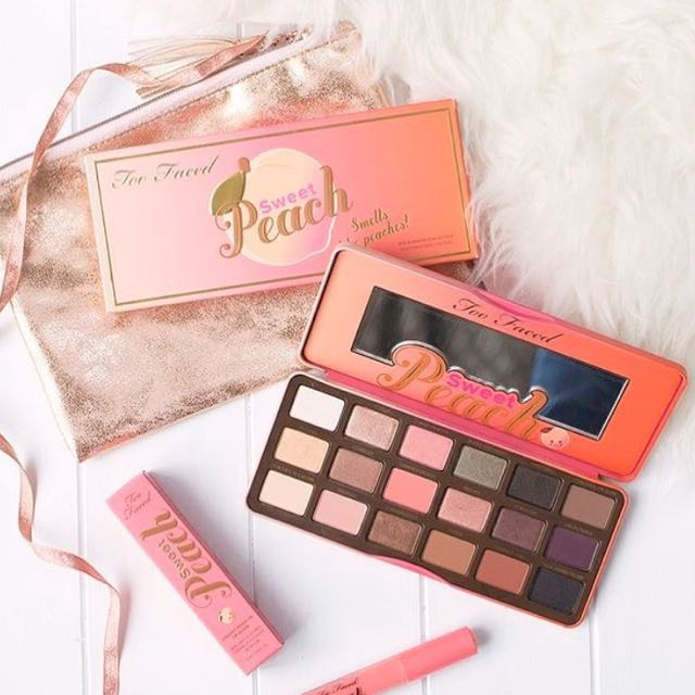 [Too Faced] Sweet Peach Eyeshadow Palette