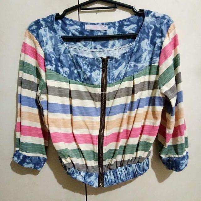 Trendy zipper Jacket