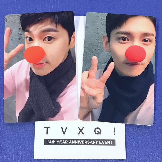 TVXQ Official 14th Anniversary Photocard Set Yunho Changmin
