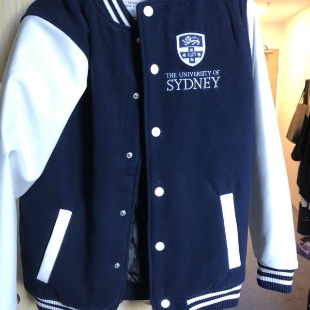 University of Sydney vintage jersey jacket