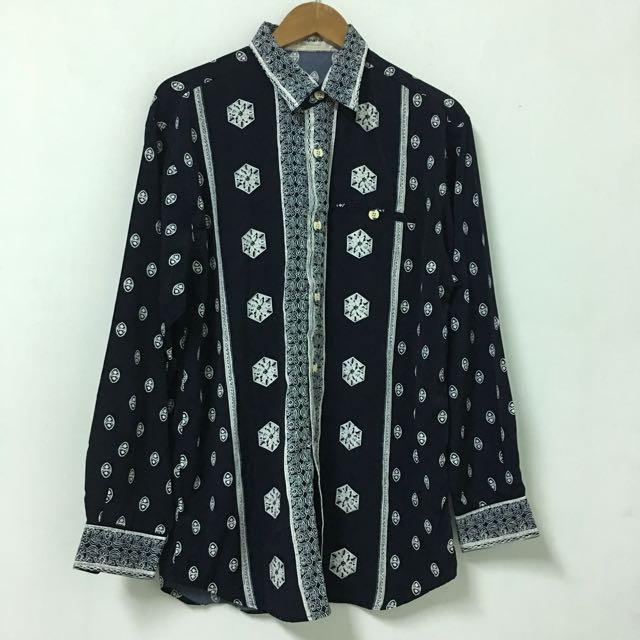 Vintage 復古雪紡襯衫