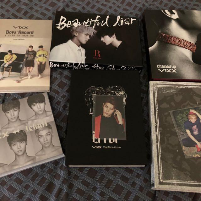 Vixx albums and Pc