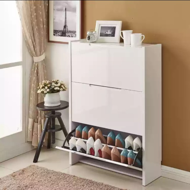 White shoe cabinet (1meter)