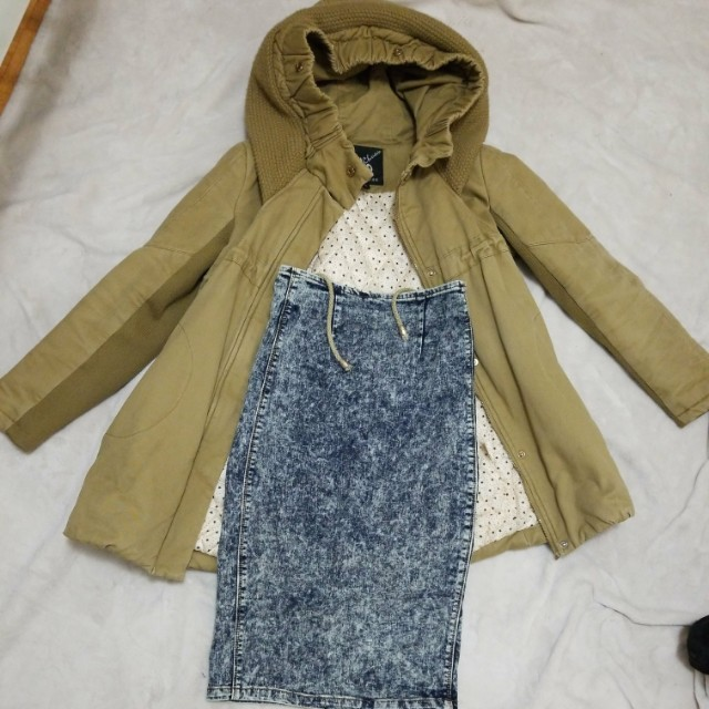 Winter jacket and and  skirt bundle