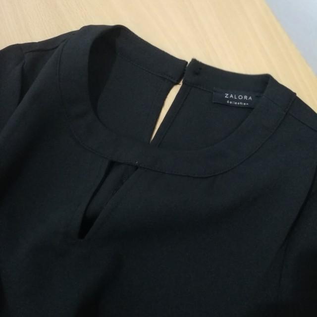 zalora collection shirt dress