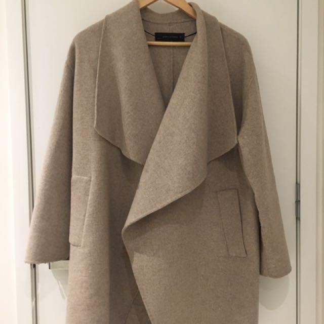 Zara beige coat