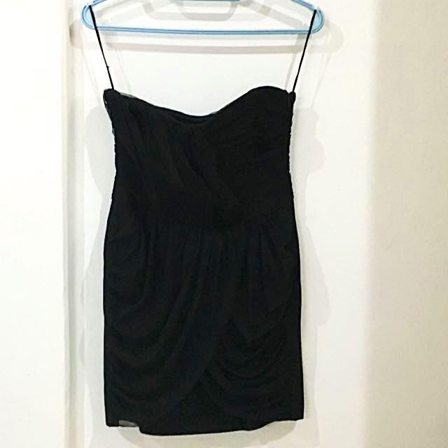 Zara Black Party Dress Size M