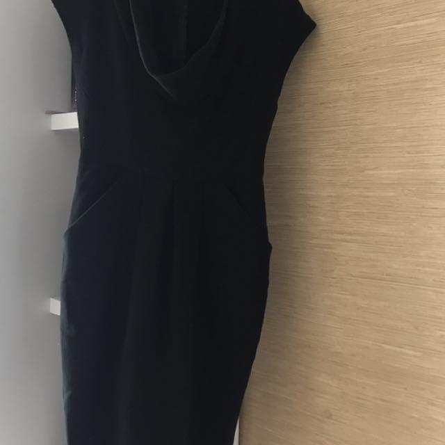 Zara dress hitam black