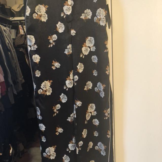 Zara Silk like Trousers