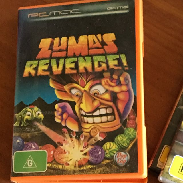 Zuma's Revenge PC CD-ROM game