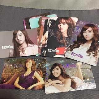 少女時代 Jessica yes card