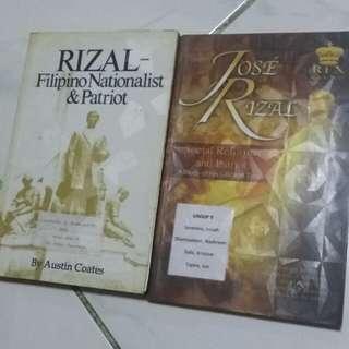 Rizal old textbooks