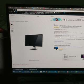"Dell 23 inch 23"", IPS monitor. S2340L"