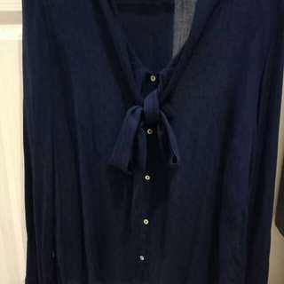Zara Navy Blue shirt
