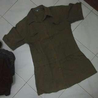 Kemeja Army