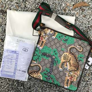 Gucci Sling bag Ready stok AVAILABLE NOW Promosi Chinese 🙌