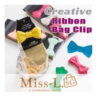 🎁 RIBBON BAG CLIP 5 PCS