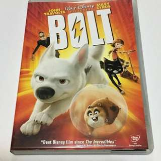 1DVD•30% OFF GREAT CNY GIFT/SALE {DVD, VCD & CD} WALT DISNEY : BOLT - DVD