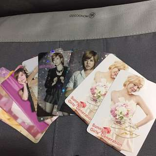 少女時代 sunny yes card