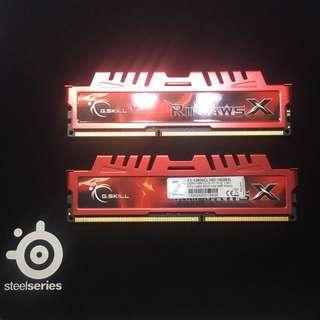G.SKILL Ripjaws X Series 16GB (2 x 8GB) 240-Pin DDR3 SDRAM DDR3 1600 (PC3 12800) Desktop Memory Model F3-12800CL10D-16GBXL