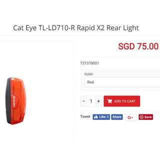 Cateye Rapid X2