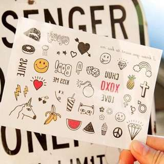 Temporary Tattoos / Tattoo Stickers