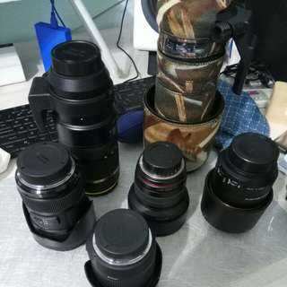 Lenses for sale (Nikon Mount Only)