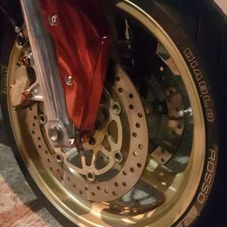 CB400SF Spec 3 Swap rims with revo rim