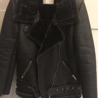 Zara jacket biker