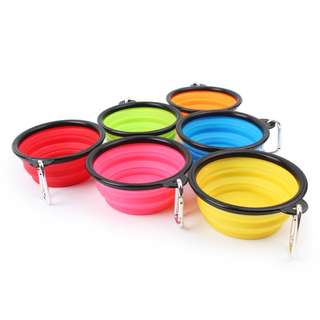 Portable Travel Collapsible Bowl