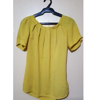 Taylor & Company Yellow Blouse