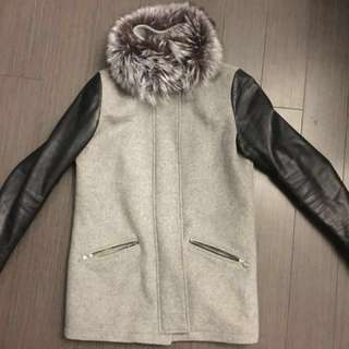 Danier Leather and Wool Winter Jacket