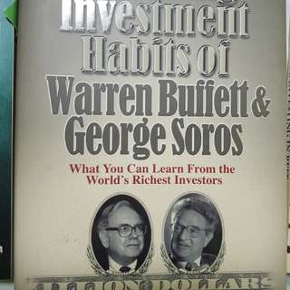 Winning investment habit of Warren buffet and George Soros