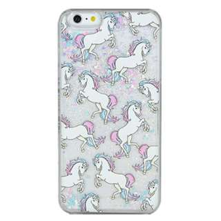 Iphone 6/s Unicorn Glitter Phone Case