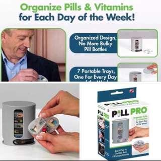 Pill Pro Meds Organizer