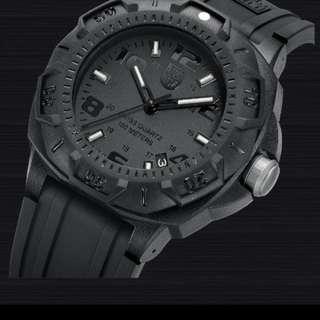 Luminox blackout new navy seal watch