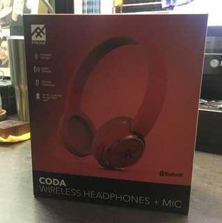 Brand New iFrogz CODA Wireless Headphone /mic