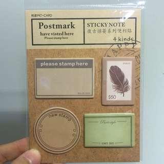 [Sticky Notes] Vintage post it 002