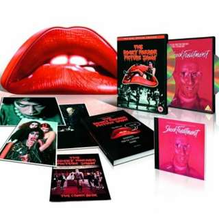 Rocky horror show and shock treatment dvds