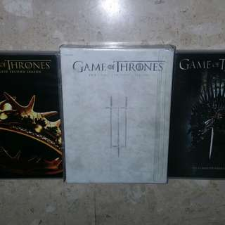 Original Game of Thrones DVDs