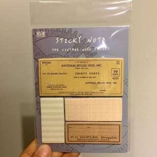[Sticky Notes] Vintage post it, 005