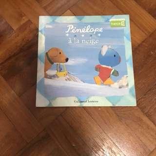 *Sales* Penelope à la neige French Children Book