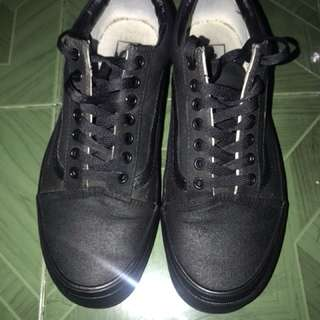 Vans Old Skool Black/Black (Full Black) ORGINAL