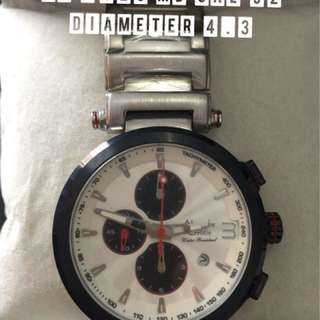 Jam tangan cowok pria Alexandre christie AC  6125 MD Cal 92 diameter 4.3 original asli