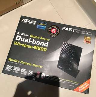 Asus Dual Band RT-N56U Wireless Router