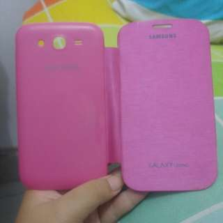 Casing Flip Cover Samsung Galaxy Grand Duos Warna Pink