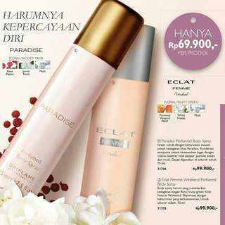 [Promo] Oriflame perfumed