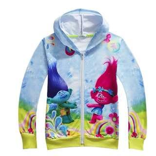 Disney Trolls Children's Jacket (Ready Stock)